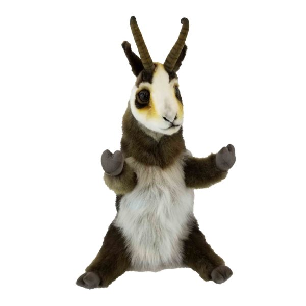 """Life-size and realistic plush animals.  7974 - DEER PUPPET 15.75""""L"""