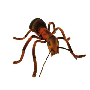 """Life-size and realistic plush animals.  8076 - ANT 9.85""""L"""