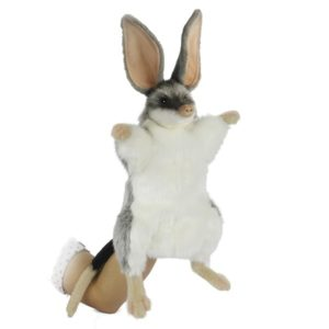 Life-size and realistic plush animals.  7354 - BILBY PUPPET