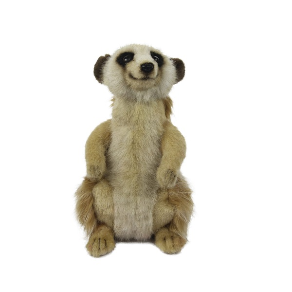 """Life-size and realistic plush animals.  7883 - MEERKAT 8.5""""H"""