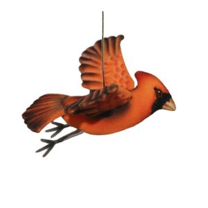Life-size and realistic plush animals.  8112 - CARDINAL FLYING